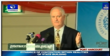 John Bruton, former Prime Minister of Ireland Advises Nigerians Living Abroad To Bring Investment Back Home...