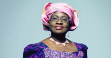 NGOZI OKONJO-IWEALA MAKES THE TIME 100 MOST INFLUENTIAL PEOPLE LIST.
