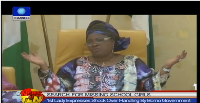 "#BringBackOurGirls - You need to see this Video of an Emotional Patience Goodluck weeping uncontrollably mouthing ""there is God o"""
