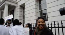 Chatham House Protest - Buhari-jide-salu.com