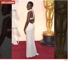 Lupita Nyong'o Oscar dress-stolen - jide-salu.com