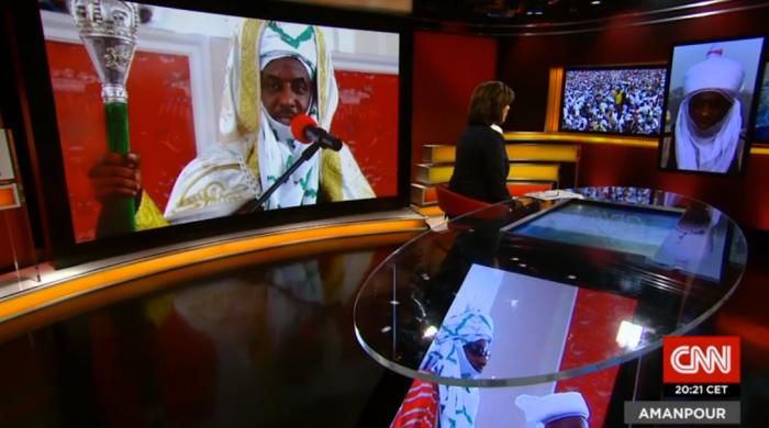 VIDEO: Amanpour interviews Lamido Sanusi on CNN-jide-salu.com