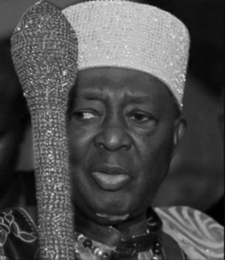 Ooni of Ife- Oba Sijuwade Olubuse II-jide-salu