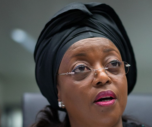 former Minister of Petroleum Resources, Mrs. Diezani Alison-Madueke.