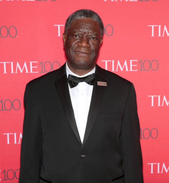 Denis Mukwege is a Congolese gynecologist. He founded and works in Panzi Hospital in Bukavu, where he specializes in the treatment of women who have been gang-raped by rebel forces.