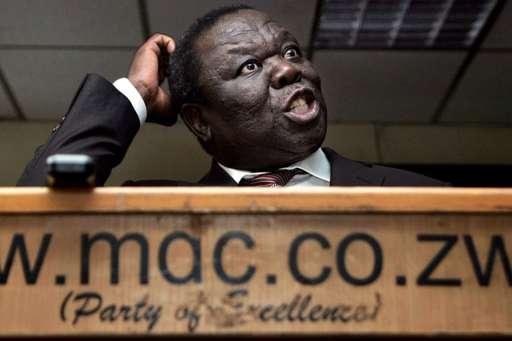 Mr Tsvangirai is a long-standing opponent of President Robert Mugabe