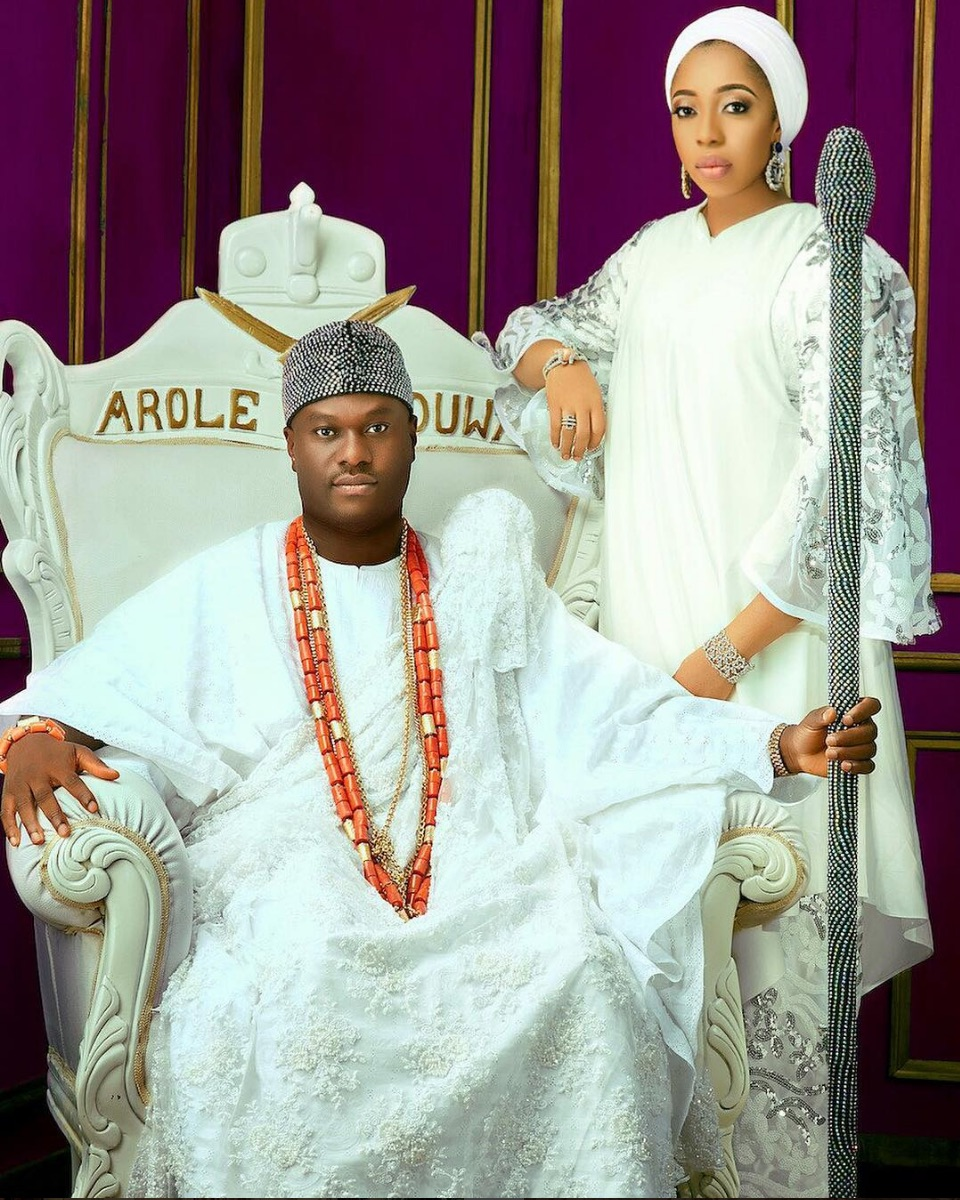 Ooni-of-Ife-and-Olori-jide-salu