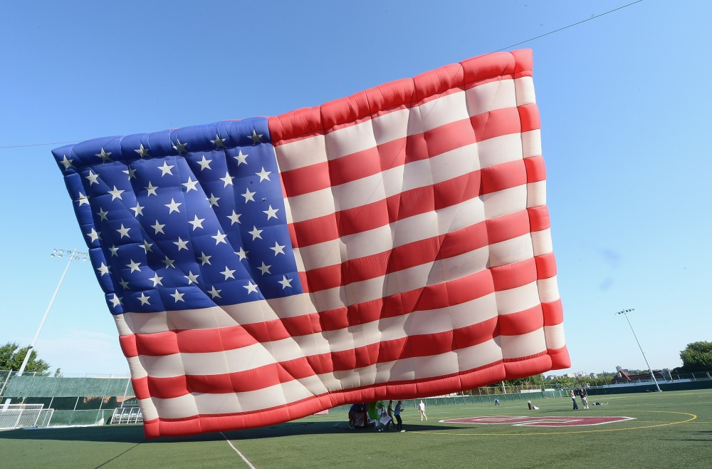 World's Largest Free-Flying American Flag Raised Ahead Of Independence Day