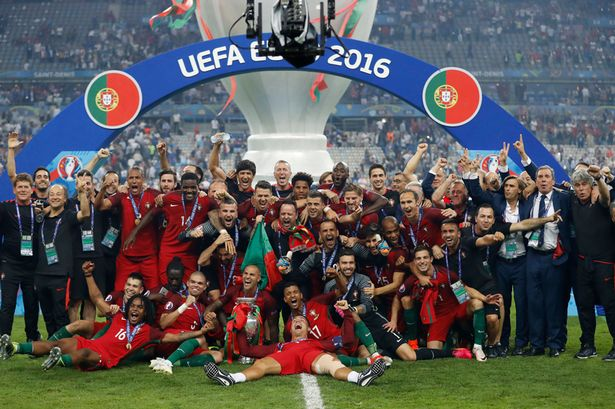 Victorious Portugal