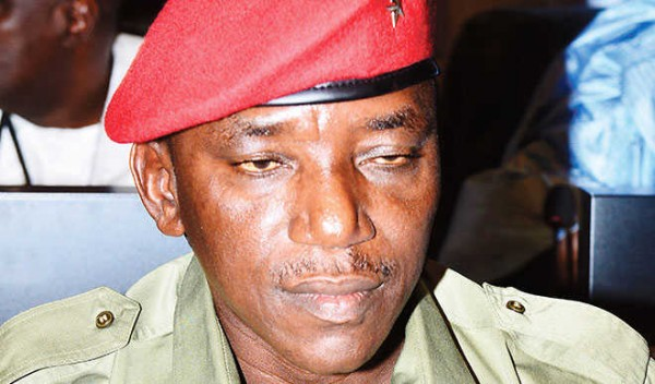 Sports Minister Solomon Dalung