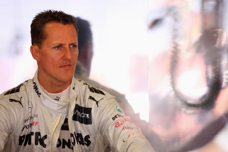 BARCELONA, SPAIN - MAY 11:  Michael Schumacher of Germany and Mercedes GP prepares to drive during practice for the Spanish Formula One Grand Prix at the Circuit de Catalunya on May 11, 2012 in Barcelona, Spain.  (Photo by Mark Thompson/Getty Images)