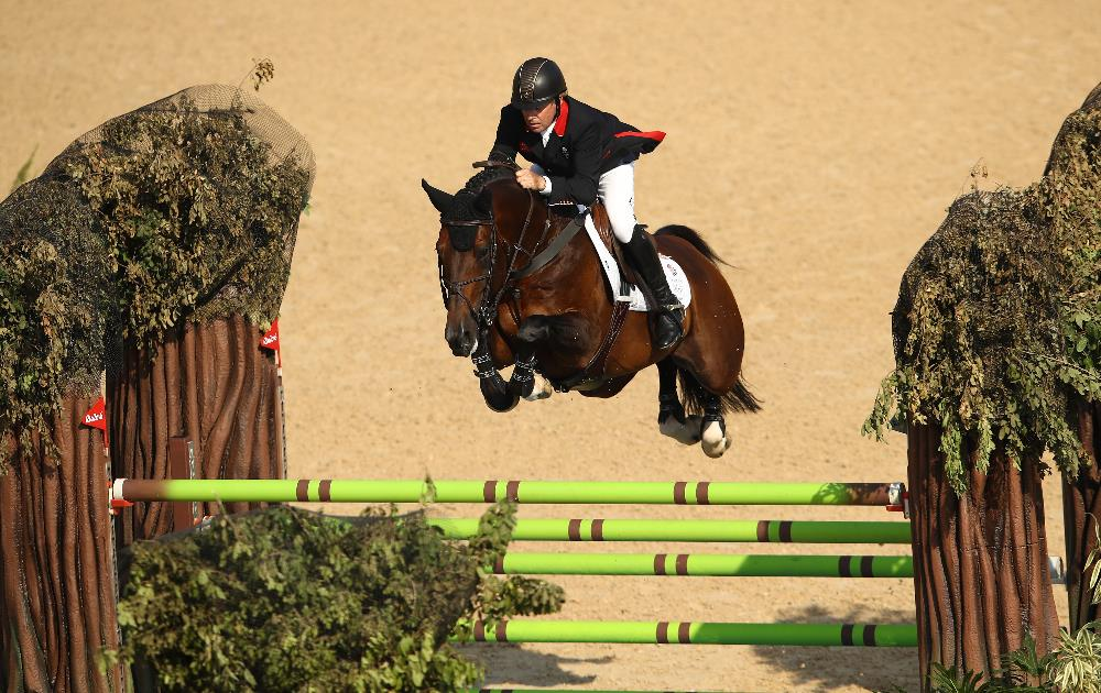 58-year0-old Olympian  Nick Skelton