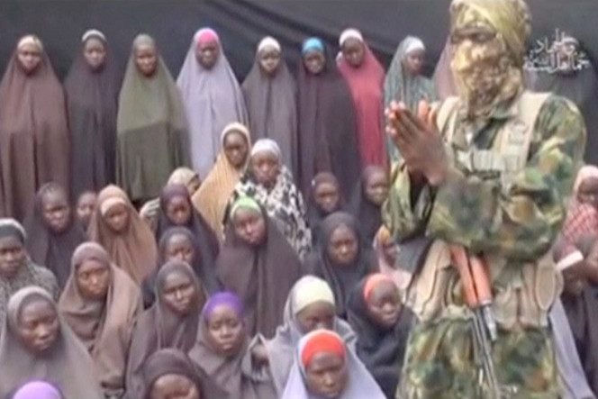 A still image from a video posted by Nigerian Islamist militant group Boko Haram on social media.Photo: Reuters