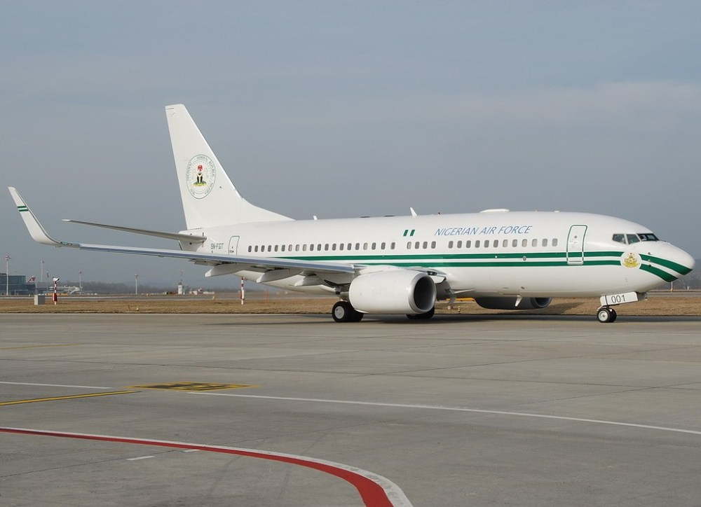 Nigeria Air Force One