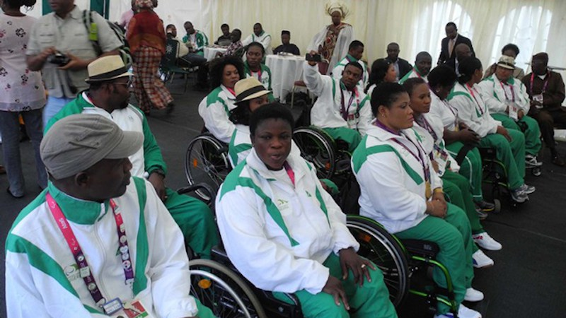 The Nigerian Paralympic Team