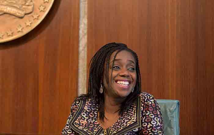 Minister of Finance, Mrs. Kemi Adeosun,
